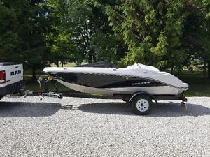 Only 8 hours! Scarab Jet boat