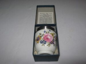 ROYAL WORCESTER EGG CUP MINT in BOX