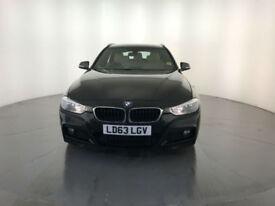 2013 63 BMW 320D M SPORT TOURING DIESEL 1 OWNER SERVICE HISTORY FINANCE PX