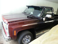 1980 Step Side Sierra Pick up. Open to Trades.