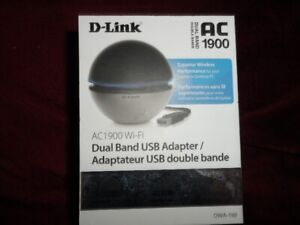 D-Link dual band AC1900 USB Adapter