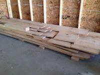 Dressed Maple Lumber