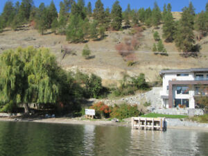 Gorgeous and affordable Okanagan Lake front lot