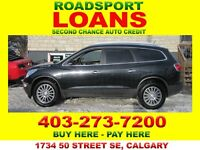 2011 BUICK ENCLAVE AWD $29 DN DIVE HM TODAY BAD CREDIT OK