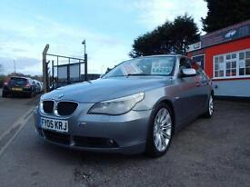 2005 BMW 5 Series 530d SE 4dr Auto 12 months mot,Warranty,Finance available,P...