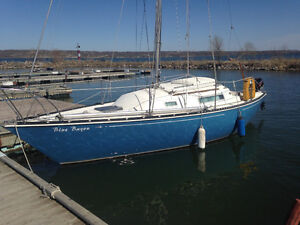 C&C 24 ft Sailboat
