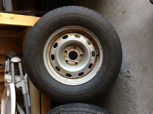 Tires and wheels 265/70r17