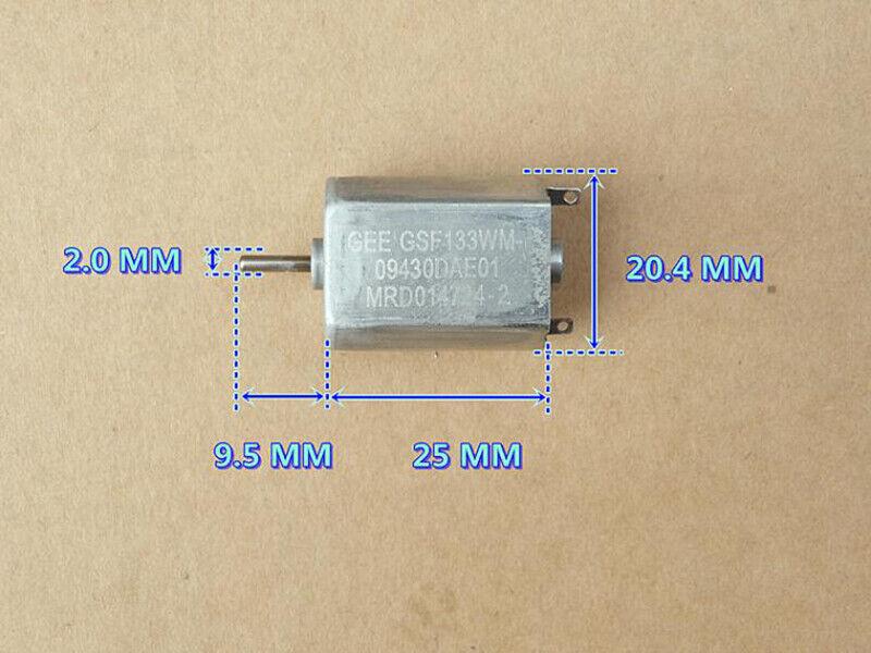 FF-130SH Motor DC12V 15V 24V 14500RPM High Speed Power Precious Metal Brush Toy