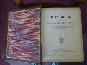 Pulpit Bible - 1870 - Printed by Oxford University Press Kitchener / Waterloo Kitchener Area image 3