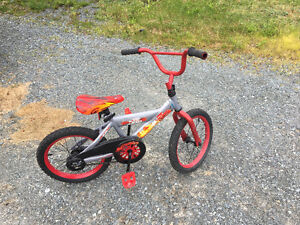 Lighten McQueen bike