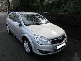 2008 '08' VAUXHALL ASTRA 1.6 16v DESIGN 5 DOOR HATCH IN MET SILVER 58,000 MILES