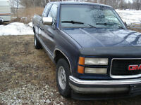 Parting out 1994 GMC C1500 Extended Cab Short Box