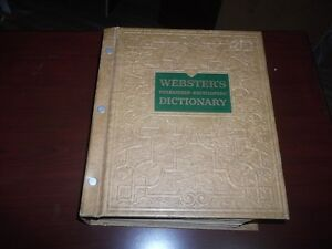 1957 Webster Dictionary