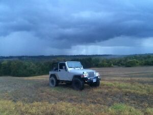 2003 Manual Jeep Wrangler MINT CONDITION