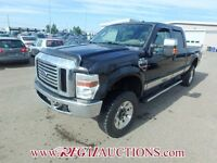 2009 FORD F350SD CREW 4WD 6.4L