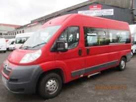 CITREON RELAY 35 HDI MINIBUS WITH WHEELCHAIR ACCESS £6995+VAT