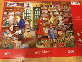 "Jigsaw puzzle ""corner shop"""