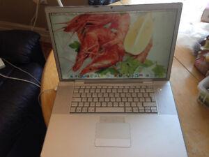 Macbook pro 17 po