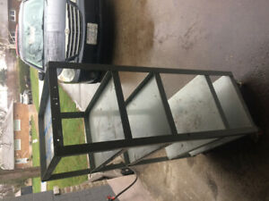 Heavy duty steel welded cart