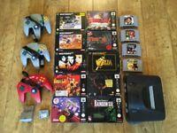N64 Control Deck, Games & Accesories
