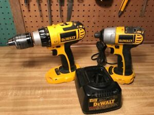 DeWalt drill and drill/driver