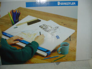 """Staedtler-Parallel Straightedge Drawing Board-18"""" X 24"""""""