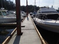 Secure Annual Moorage offered available now