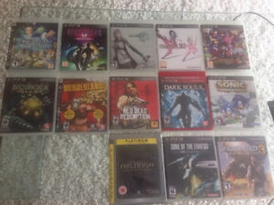 Collection of PS3 Games for Sale