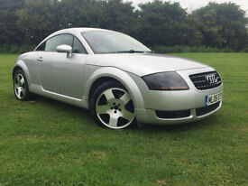 2006 Audi TT Coupe 1.8T ( 187bhp ) SILVER FULL LEATHER LOW MILAGE BOSE STEREO