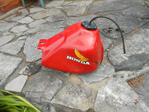 Fuel tank from Honda dirtbike, late 80's or early 90's