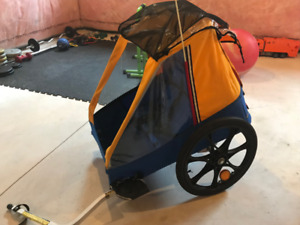 Chariot two-seater bicycle trailer