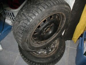FOR SALE 4 TIRES WITH RIMS