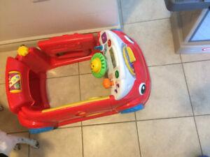 Fisher price laugh learn crawl around car