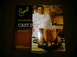 Emeril Cast Iron Poultey Roaster