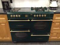 100cm duel fuel range cooker