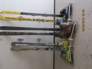 2 ski packages( skis, boots, boot carrier and poles) St. John's Newfoundland image 2