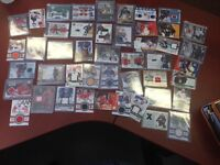 Game Worn Jersey Swatch/Patch Cards Various Years