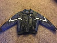 Toronto Maple Leaf leather winter coat