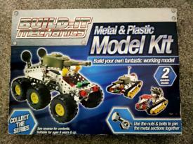 Metal and plastic model kit