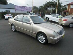 2001 Mercedes-Benz E240 W210 Elegance Gold 5 Speed Sequential Auto Sedan