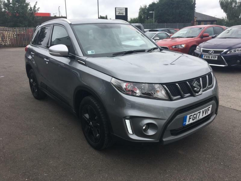 2017 suzuki vitara 1 4 boosterjet s allgrip 5dr auto petrol grey automatic in basford. Black Bedroom Furniture Sets. Home Design Ideas