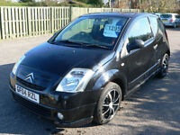 Citroen C2 1.4i SensoDrive 2004 Furio Will Mot for 1 Year
