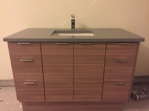 Bathroom Vanity, Brand New W Quartz Top...