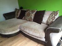 Dfs pillow back lounger sofa