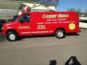**JUST CALL COOPER** FOR AUTO GLASS - STONECHIPS