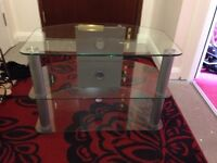 Glass TV Stand for sale £10