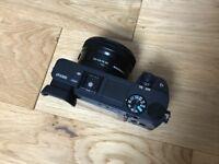 Sony alpha A6300 with 16-50mm lense