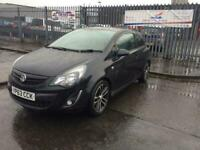 2013 Vauxhall Corsa 1.4T Black Edition 3dr cruise control turbo very rear Hatch