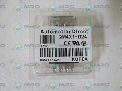 Lot Of 7 Automation Direct Qm4x1-d24 Relay Original Package