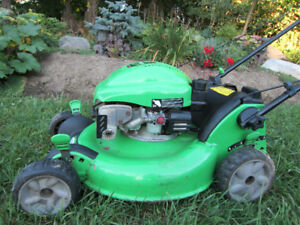 "LAWN BOY PUSH MOWER ~ 6.5hp ~ 21"" DECK ~ TUNED UP AND READY!"